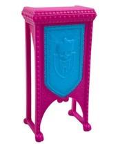 Monster High Doll Furniture Deadluxe School Repl Pink Blue Podium DJ Tab... - $5.87