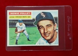 1956 Topps Set Break #262 - Howie Pollet EX-EXMINT (gray back) - $5.90