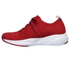 Skechers Red shoes Memory Foam Women Slip On Comfort Casual Athletic train 13024 image 3