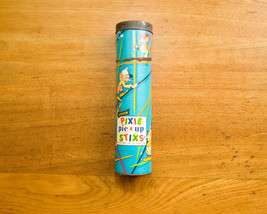 1950s Pick Up Sticks Game, Steven Pixie Pic Up Stixs, Original Container... - $15.00