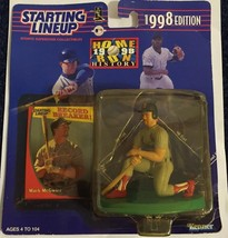 1998 STARTING LINE UP  MARK McGWIRE - HOME RUN HISTORY  CARDINALS  ACTIO... - $17.96