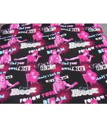 Voice Rock Singing Disney Cotton Fabric - $20.00
