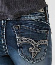 Rock Revival Women's Premium Skinny Light Denim Jeans Woven Pants Adele S41 image 5
