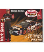 MARK GREEN RACING #63 SIGNED  8 x 10 COLOR PHOTO - $8.96