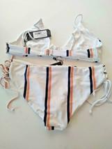Tavik Agustus Desert Clay Nahla Bralette Top BEBE Full Bikini Set Size Medium image 2