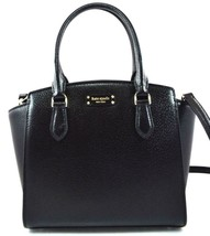 AUTHENTIC NEW NWT KATE SPADE $329 LEATHER JEANNE BLACK SATCHEL CROSSBODY... - $156.34 CAD