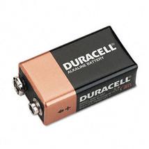 Duracell Coppertop Alkaline Batteries 9V 4/Pack Case Pack 2 - $73.51