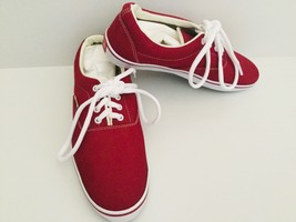 VANS Off The Wall Maroon Size US 8 Made In The USA - €22,27 EUR