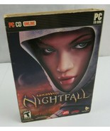 Guild Wars Nightfall PC CD-ROM Online 2006 NCSoft 3-Disc Original - $20.00