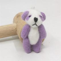 100pcs/lot Kawaii Small Joint Panda Bear Stuffed Plush Toys,Small Phone Pendant  image 5