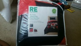 Room Essentials XL Floral Twin Reversible College Student Dorm Room Bedding Set  - $47.50