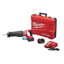 Cordless Reciprocating Saw Brushless 18 Volt w/ Two 5.0 Ah Batteries Cas... - $403.04