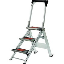 3 ft. 3 Step Stool Safety Ladder 300lb. Capacity Nonslip Rust Resistant ... - $173.87