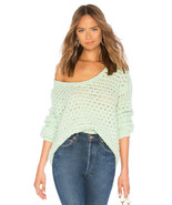 Free People Crashing Waves Pullover Mint S - $84.14