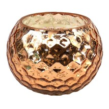 Scented Candle, Small Copper Honeycomb Berry Scent Holder Candles Scente... - $18.19