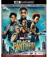 Black Panther [4K Ultra HD+Blu-ray+Digital, 2018] - $21.95