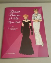 Diana Princess of Wales Charity Auction Dresses Uncut Paper Dolls Book T... - $5.00