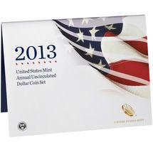 2013 W US Mint Set Unc Silver Dollar & Native American Golden + 4 Presidents XA5 image 3