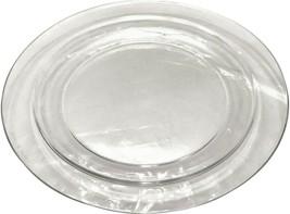 "Arcoroc France Crystal / Clear Dinner Plate - 9 1/2"" - $12.99"