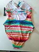 La Blanca Multi Color Tummy Control One Piece Swim Wear Size 12 image 2