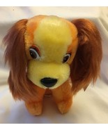 "Walt Disney Productions 7"" Lady Plush from Disney Lady & the Tramp Vinta... - $14.99"