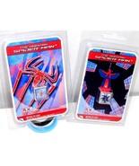 Lot 2 Charm Bracelets Marvel Amazing Spider-Man Rubber Wristbands Slide ... - $47,07 MXN