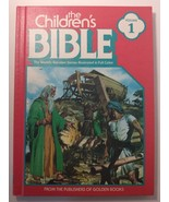 The Children's Bible Volume 1 Vintage Golden books 1981 Creation Adam & ... - $9.90