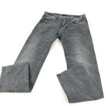 Armani Men's Gray Jeans Straight 32 image 4