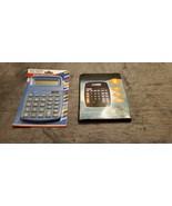 ELECTRONIC / SOLAR CALCULATORS - NEW IN BOXS - $6.99
