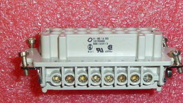 NEW CONTACT EPIC® H-BE 16 BS STECKDOSE M.DR. 500/6kV/3 Screw termination... - $19.00