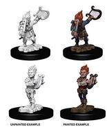 NECA Deep Cuts Unpainted Minis: Gnome Male Bard - $4.99