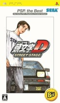 PSP SEGA INITIAL D STREET STAGE PSP the Best Japan Import Game Japanese - $65.27