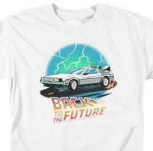 Back to the Future Retro 80s T Shirt Classic McFly Doc Brown DeLorean UNI1127 image 2