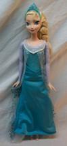 """Mattel Walt Disney FROZEN NICE QUEEN ELSA OF ARENDELLE 12"""" Plastic Toy DOLL - $19.80"""