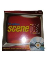 Scene It? TV Edition: The DVD Game - Trivia Screen Life 2004 NEW FACTORY... - $14.84