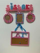 Delta Gamma Blue & Pink Picture Frame & Corkboard - $29.95