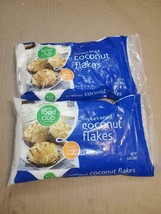 LOT OF 2x FOOD CLUB SWEETENED COCONUT FLAKES 14oz PER BAG (( - $14.01