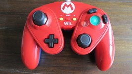 PDP BOSS Wii Controller Shell (PL7508RED) Video Games Controller Mario Red - $15.80