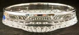 Vintage Gorham Nachtmann Lead Crystal Glass Bowl Silver Plate Rim Germany w/ Box - $24.99
