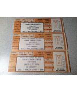 David Lee Roth Concert Ticket Stub Unused can be repurposed for private ... - $28.89