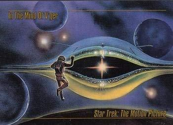 1993 Skybox Star Trek Master Series #57 In the Mind of V'ger M/NM