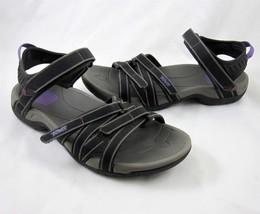4cff9ab30005 Teva Tirra Sandals US Size 9 EU 39 UK 7 Womens Shoes Black Grey Athletic