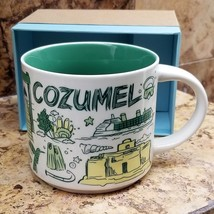 Starbucks 2018 Cozumel, Mexico Been There Collection Coffee Mug NEW IN BOX - $49.99