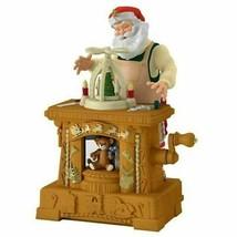 Hallmark Keepsake 2019 Toymaker Santa 20th Ornament Club Musical New wit... - $44.05