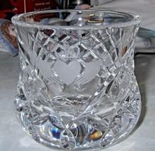 Galway Claddagh Crystal Votive Holder  - $23.01