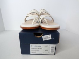 New Cole Haan Anica Scallop Thong Sandals - Size 6.5 - MSRP $140 - $27.70