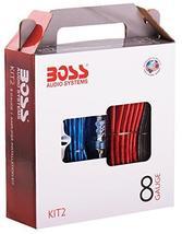 BOSS Audio KIT2 8 Gauge Amplifier Installation Wiring Kit - £26.62 GBP+