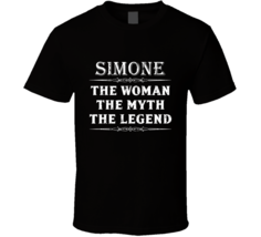 Simone The Woman The Myth The Legend Mother's Day Gift For Her Trendy T ... - $20.99