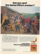 1975 Camel Filter Cigarettes Advertisement - $16.00