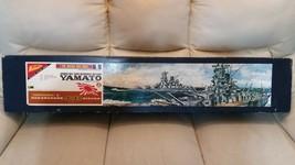 Damaged Missing items prebuilt painted Nichimo 1/200 Battleship Yamato M... - $342.00